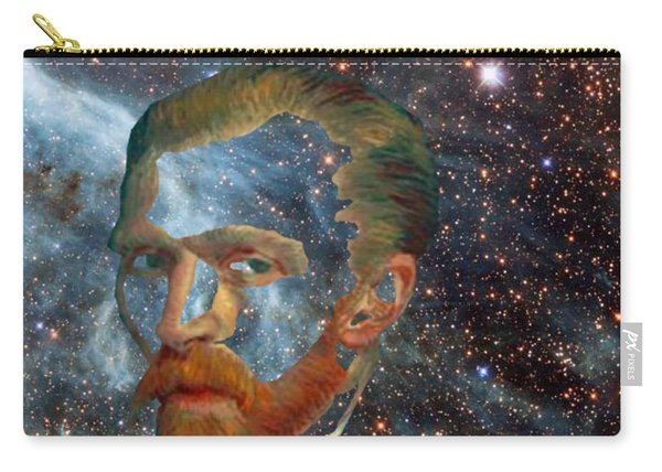 Van Gogh Art Study In Blue Carry-all Pouch