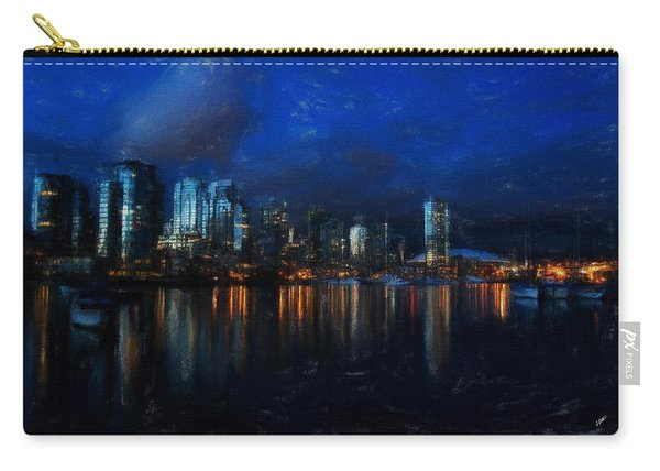 Vancouver At Dusk Carry-all Pouch