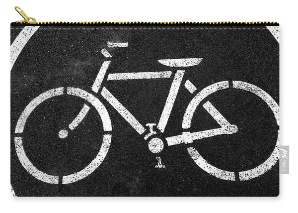 Vancouver Bike Lane- Art By Linda Woods Carry-all Pouch