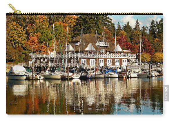 Vancouver Rowing Club In Autumn Carry-all Pouch