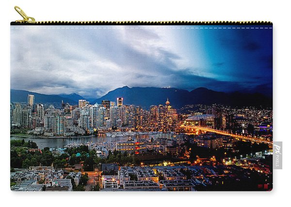 Vancouver Skyline - 4 Hours Carry-all Pouch