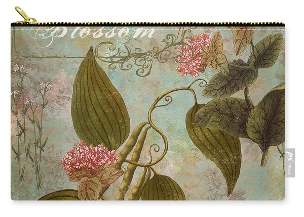 Vanilla Blossom Carry-all Pouch