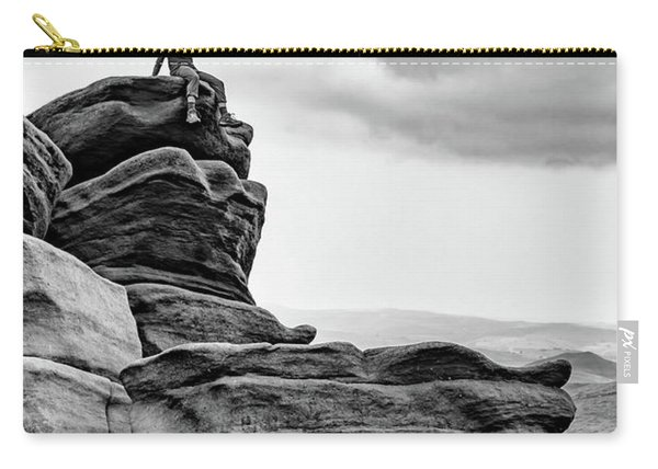 Carry-all Pouch featuring the photograph Vantage Point by Nick Bywater