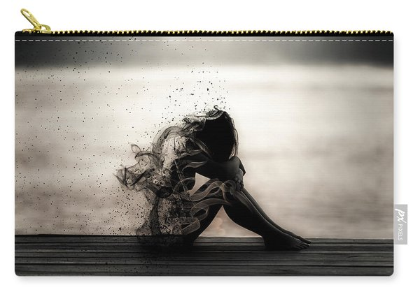 Vapours Of Sadness Carry-all Pouch