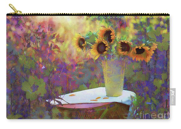 Vase De Fleurs 2017 Carry-all Pouch