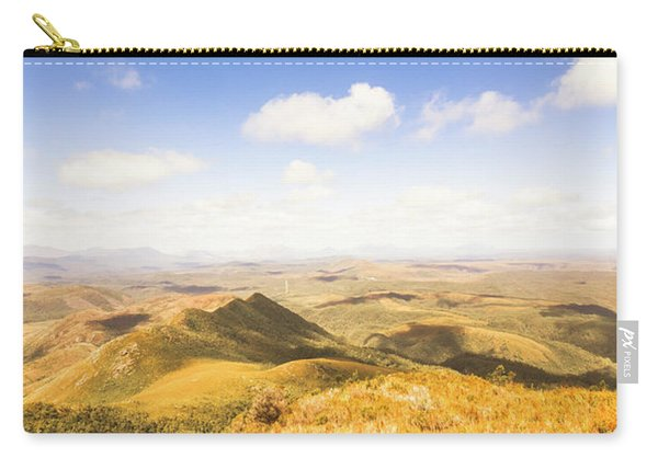 Vast Expanse Of Wonderful Countryside Carry-all Pouch