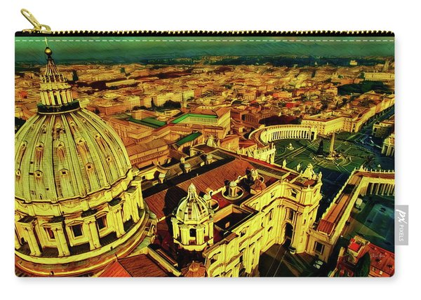 Vatican City Rome Italy Carry-all Pouch