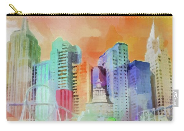 Vegas New York Carry-all Pouch