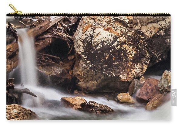 Velvet Falls - Rocky Mountain Stream Carry-all Pouch