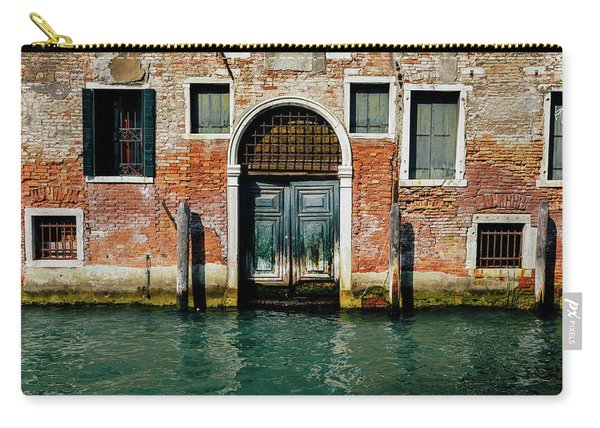 Venetian House On Canal Carry-all Pouch