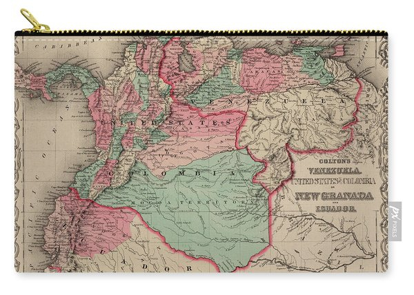 Venezuela, Colombia And Ecuador Carry-all Pouch