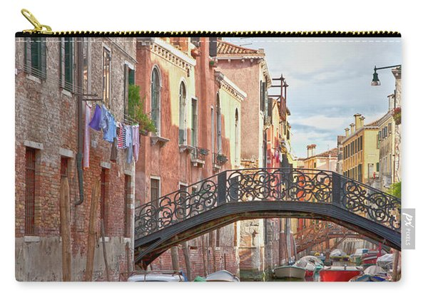 Venice Bridge Crossing 5 Carry-all Pouch