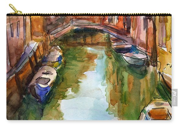 Venice Canal Painting Carry-all Pouch