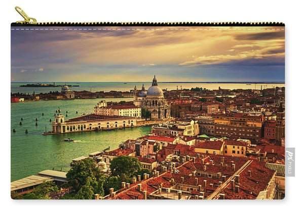 From The Bell Tower In Venice, Italy Carry-all Pouch