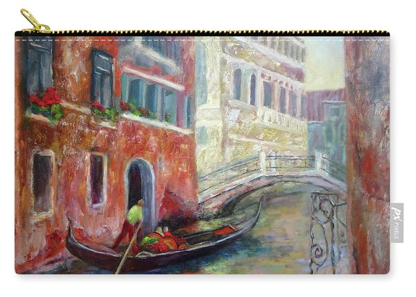 Venice Gondola Ride Carry-all Pouch