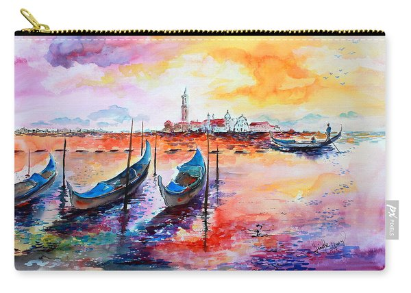 Venice Italy Gondola Ride Carry-all Pouch