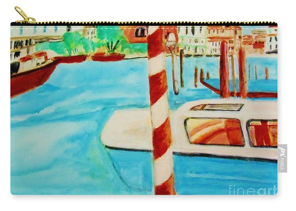 Venice Travel By Boat Carry-all Pouch