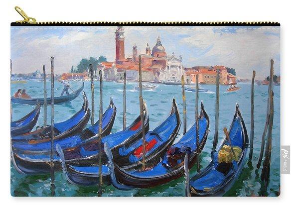 Venice View Of San Giorgio Maggiore Carry-all Pouch