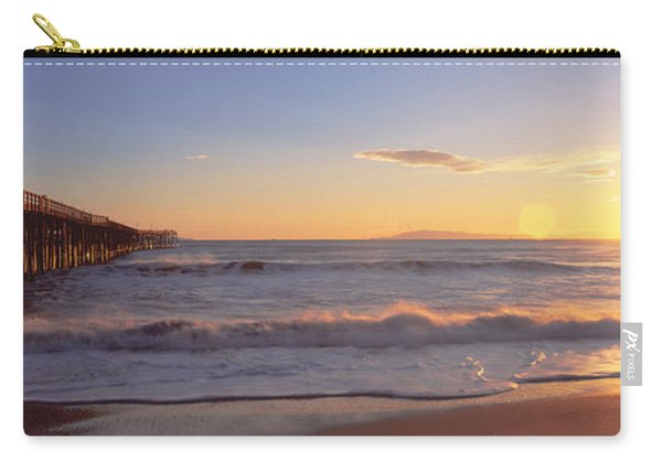 Ventura Pier At Sunset, California Carry-all Pouch