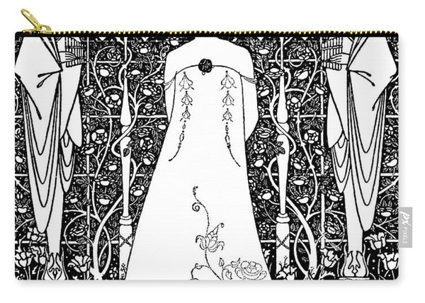 Venus And Tannhauser By Aubrey Beardsley Carry-all Pouch