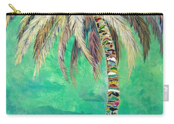 Verdant Palm Carry-all Pouch