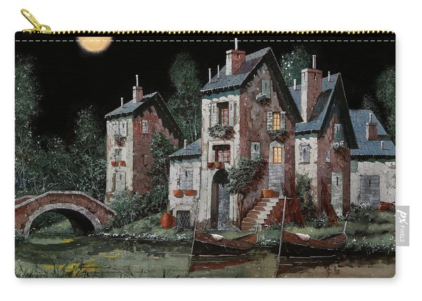 Verde Notturno Carry-all Pouch