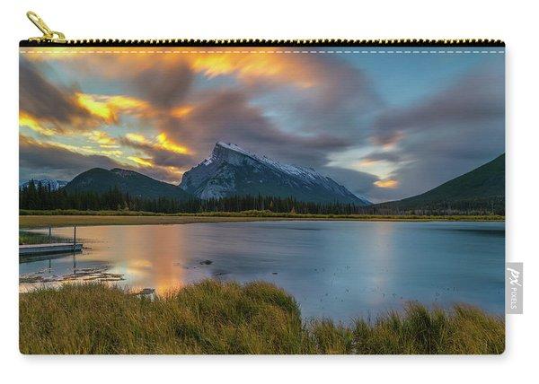 Vermillion Lakes Sunrise Carry-all Pouch