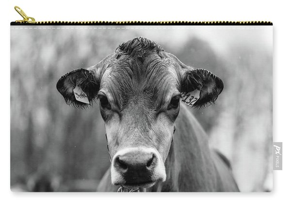 Vermont Cow Square Carry-all Pouch
