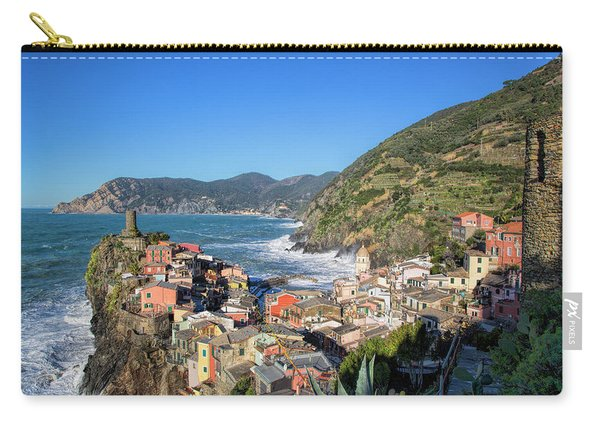 Vernazza In Cinque Terre Carry-all Pouch