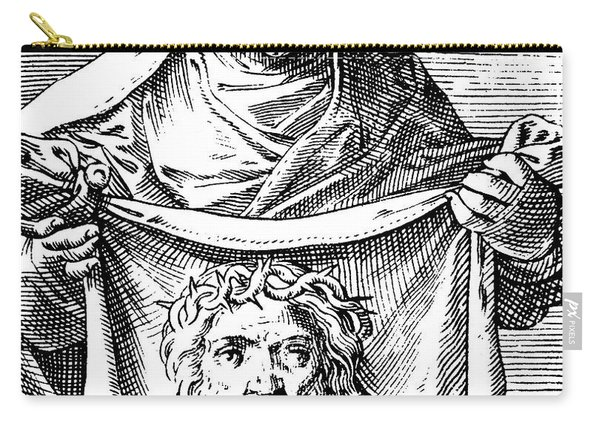 Veronica Holding The Sudarium, 1581 Carry-all Pouch