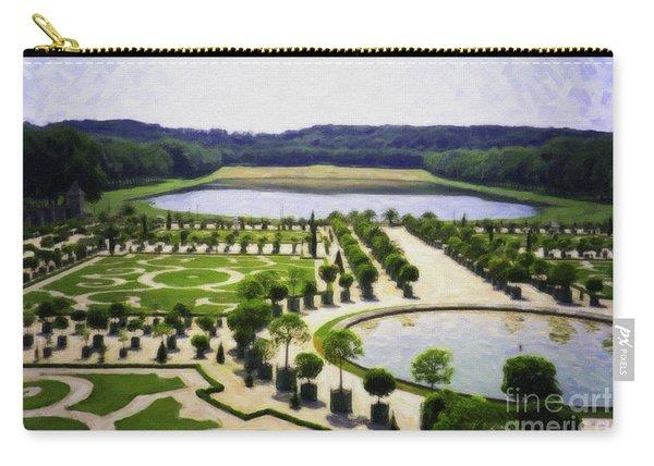 Versailles Digital Paint Carry-all Pouch