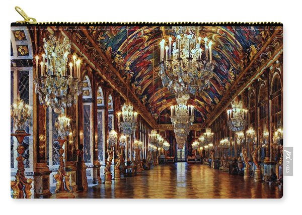 Versailles Hall Of Mirrors Carry-all Pouch