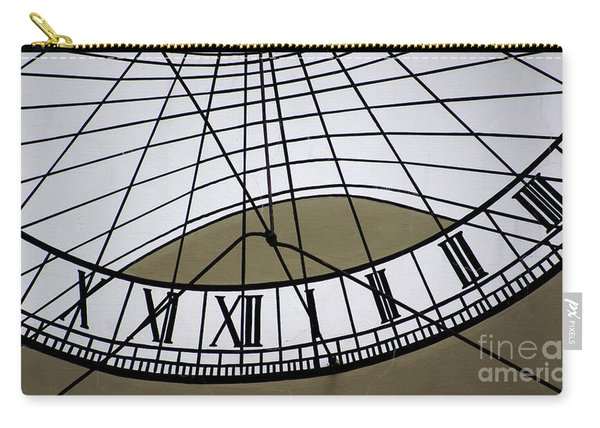 Vertical Sundial - Vertikale Sonnenuhr Carry-all Pouch