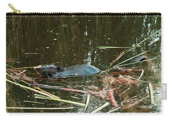 Very Large Beaver Carry-all Pouch
