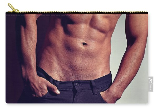 Very Sexy Man With Great Body Carry-all Pouch