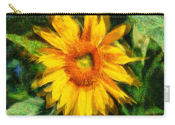 Very Wild Sunflower Carry-all Pouch