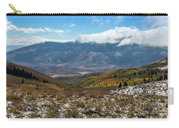 Vibrance Of The Storm Idaho Landscape Art By Kaylyn Franks Carry-all Pouch