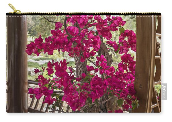 Vibrant And Blooming Bonsai Tree. Carry-all Pouch
