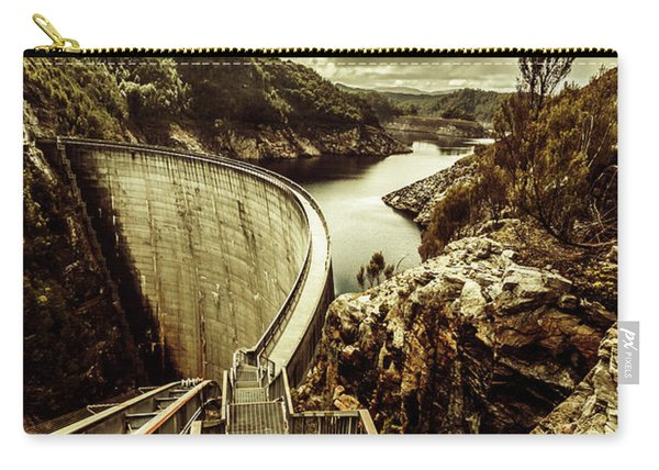 Vibrant River Dam Carry-all Pouch