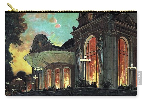 Vichy, France - Billets A Prix Reduits - Retro Travel Poster - Vintage Poster Carry-all Pouch