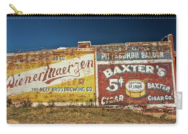 Victor Colorado Building Murals Carry-all Pouch