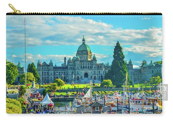 Victoria Bc Parliament Harbor Carry-all Pouch