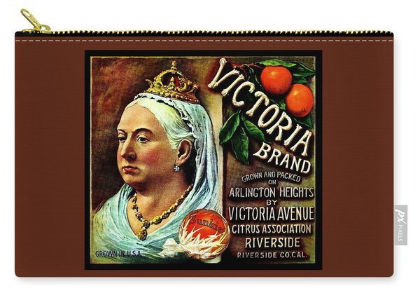 Victoria Brand Sunkist Oranges Carry-all Pouch