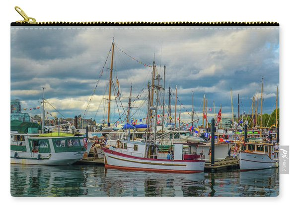 Victoria Harbor Boats Carry-all Pouch