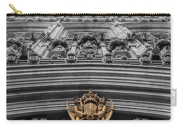 Victoria Tower Low Angle London Carry-all Pouch