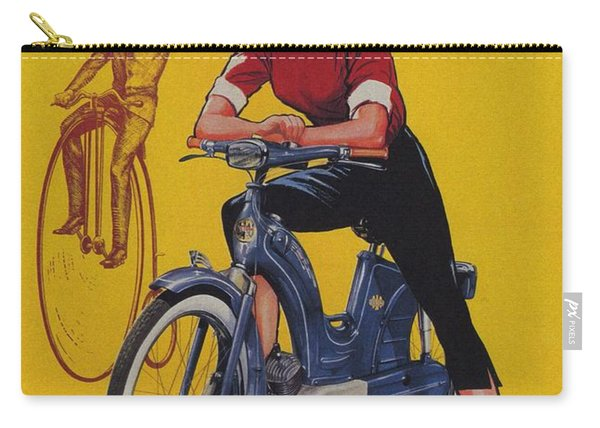 Victoria Vicky Iv - Motorcycle - Vintage Advertising Poster Carry-all Pouch