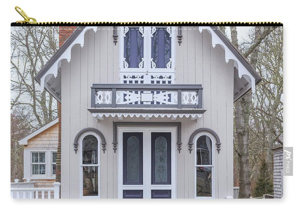 Victorian Cottage On Cape Cod Carry-all Pouch