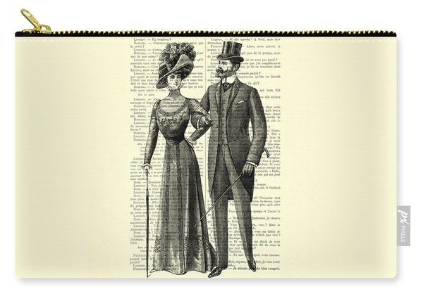 Victorian Couple Carry-all Pouch