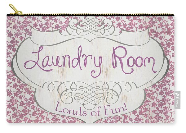 Victorian Laundry Room Carry-all Pouch