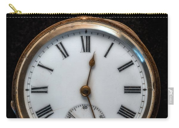 Victorian Pocket Watch Carry-all Pouch